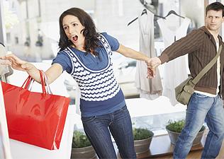 Anyáról lányára öröklődik a vásárlási láz