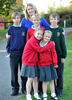 Julie és a gyerekek
