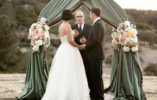 Carey és Brian Provost esküvője