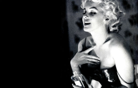 Marilyn Monroe a Chanel No. 5 reklámjában