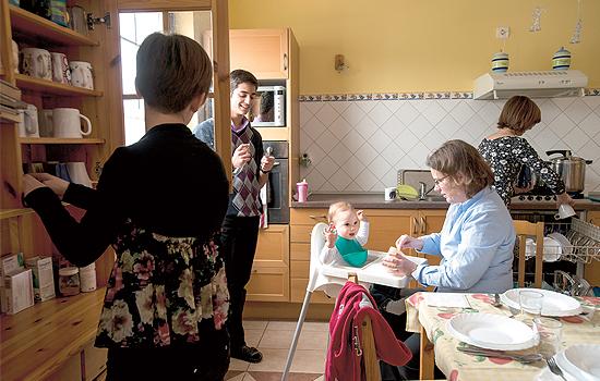 Kilenc gyerekkel sem fél a jövőtől a Bokros család