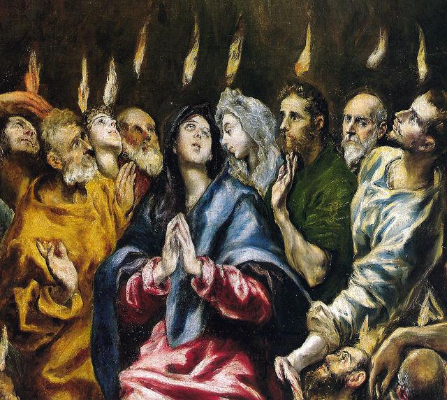 Részlet El Greco festményéből