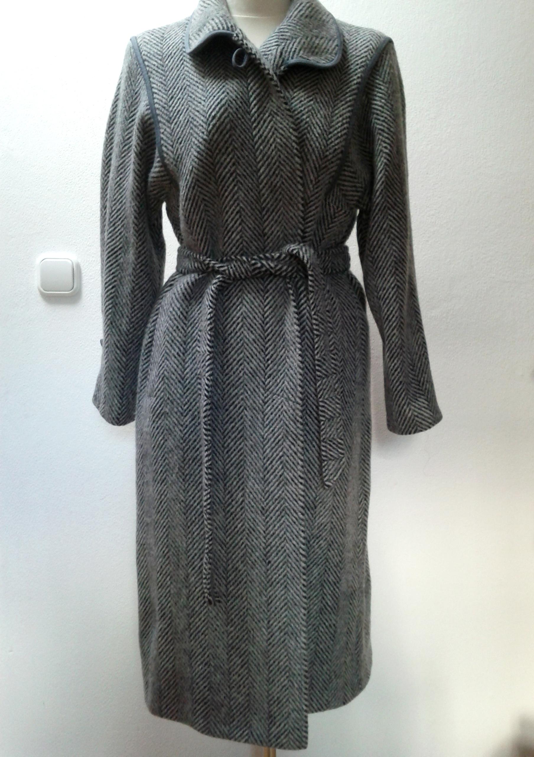 Solfin gyapjú kabát - Angex