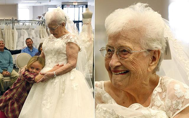 menyasszony az idősek