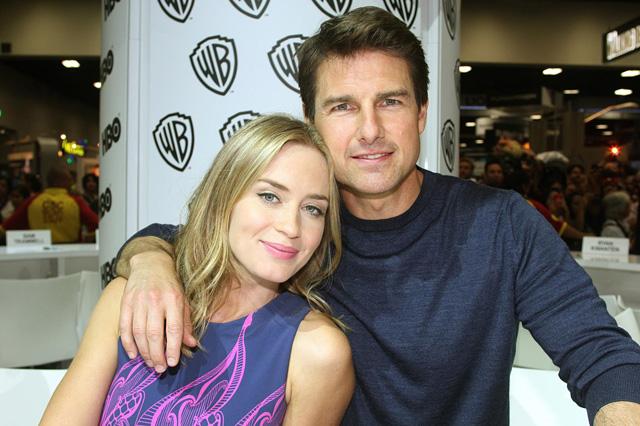 Emily Blunt és Tom Cruise