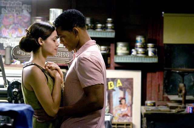 Rosario Dawson és Will Smith