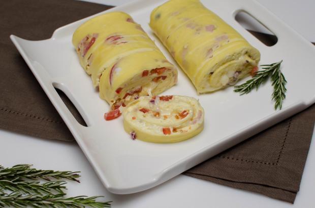 Unod a rántottát? Próbáld ki az omlettet tekerve!