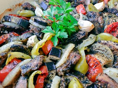 Mit főzzek ma vacsira? Tökös–paprikás tarját!