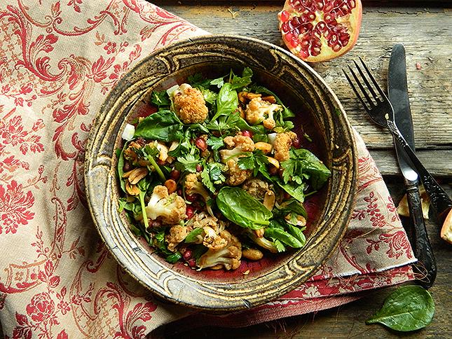 Mit főzzek ma vacsira? Gránátalmás salátát!