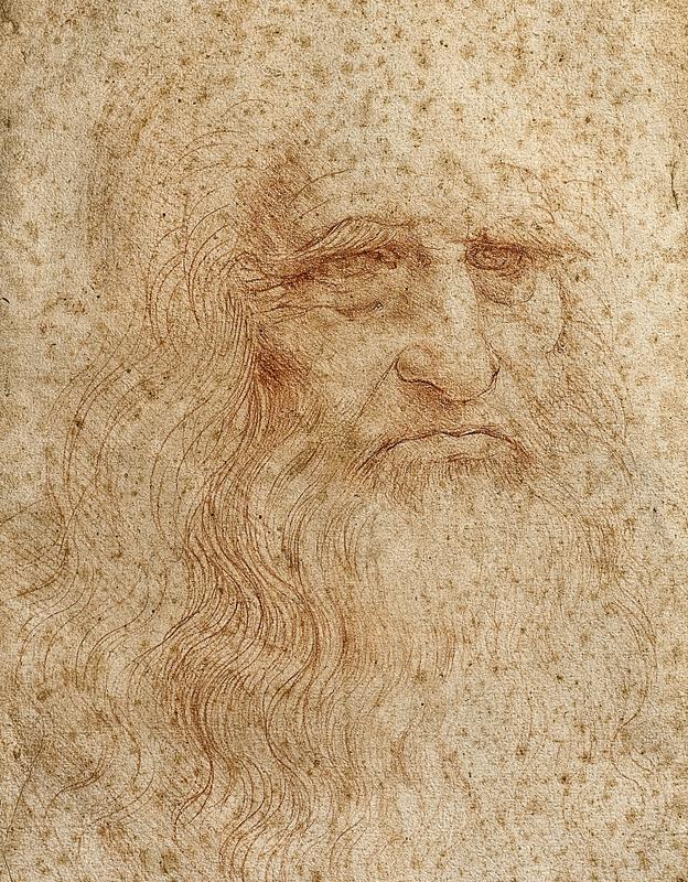 Íme Leonardo önarcképe, amit Hitler elől kellett rejtegetni