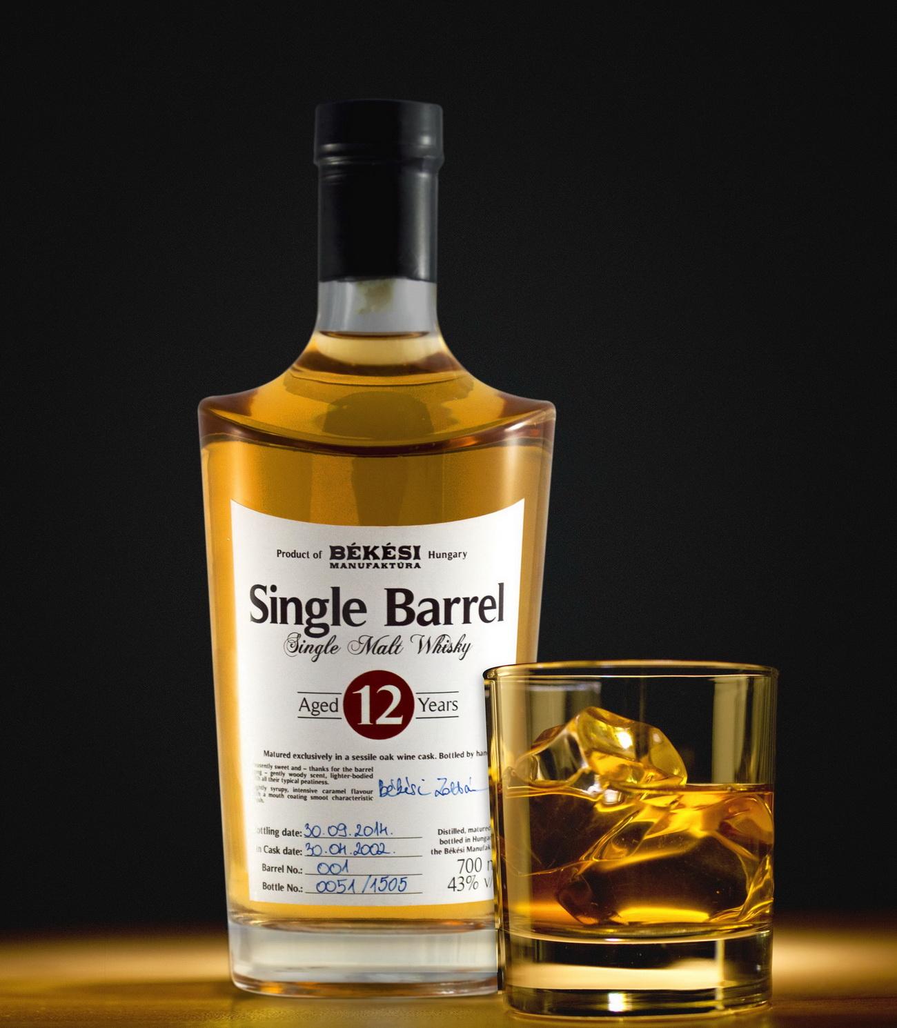 Itt az első magyar whisky