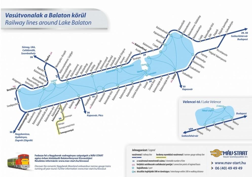balaton vonat térkép Szombattól könnyebb lesz eljutni a Balatonhoz | NLCafé balaton vonat térkép