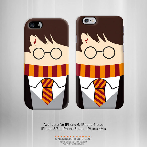 Harry Potteres iPhone-tok