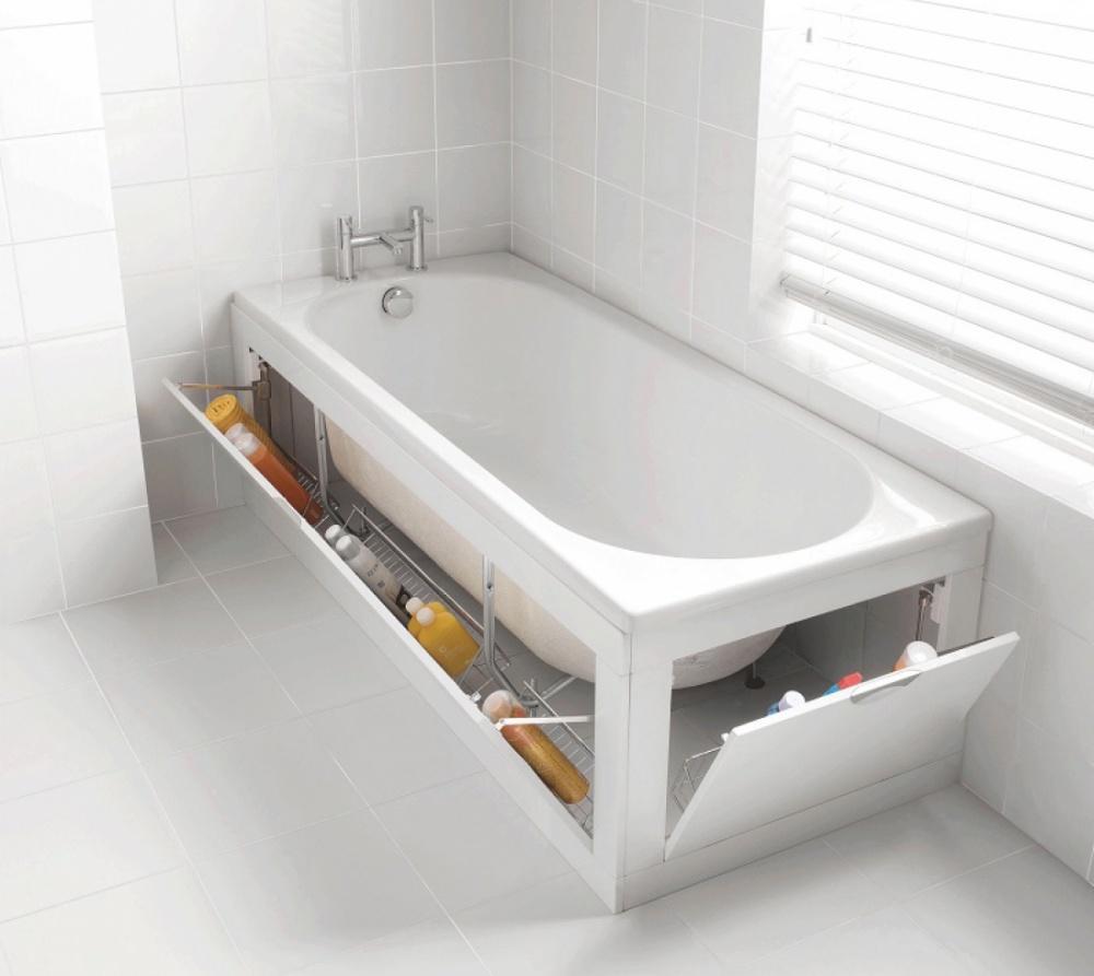 15 helytakarékos és mutatós fürdőszobai ötlet, amivel a káoszból ...