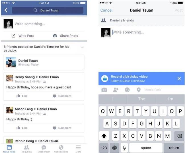 boldog szülinapot facebook Mostantól így kívánhatsz boldog szülinapot a Facebookon | NLCafé boldog szülinapot facebook