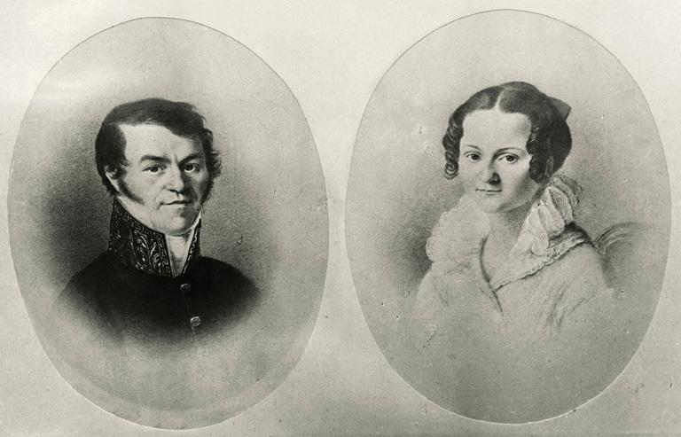 Fjodor Mihajlovics és Marija Dosztojevszkij
