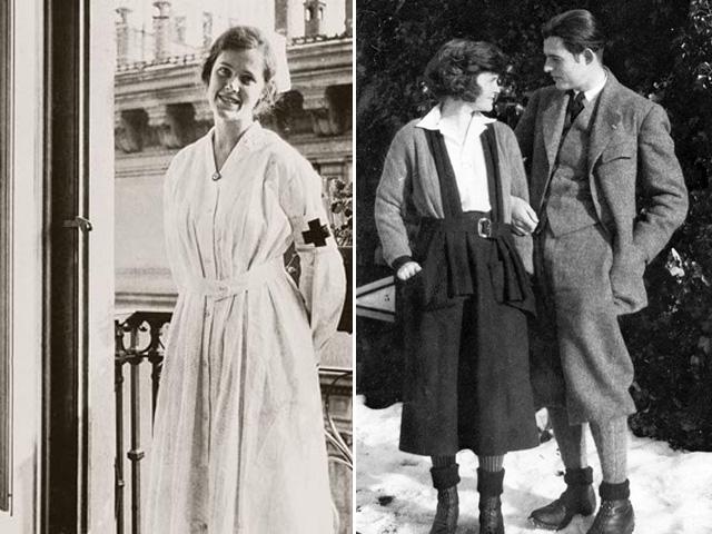 Agnes von Kurowsky és Elizabeth Hadley