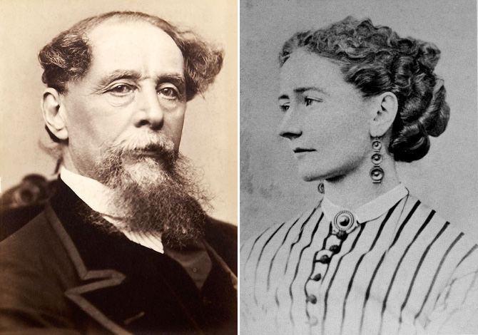 Dickens és Ella