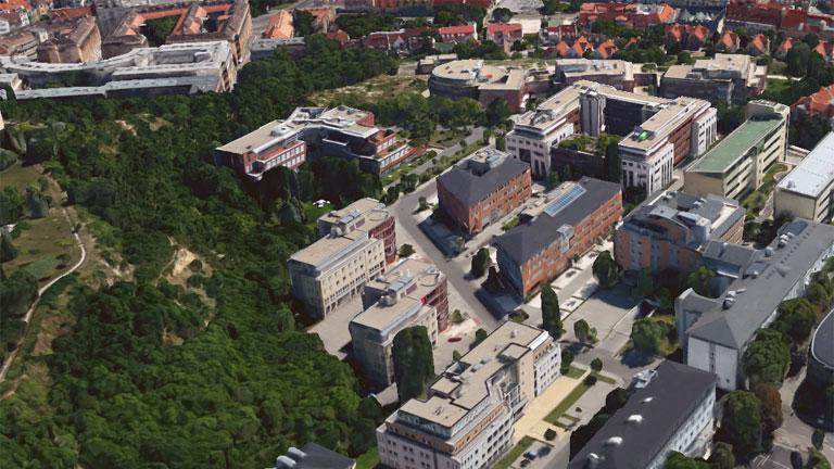 google 3d térkép magyarország Google Earth: elképesztően jó lett a megújult térkép | NLCafé google 3d térkép magyarország