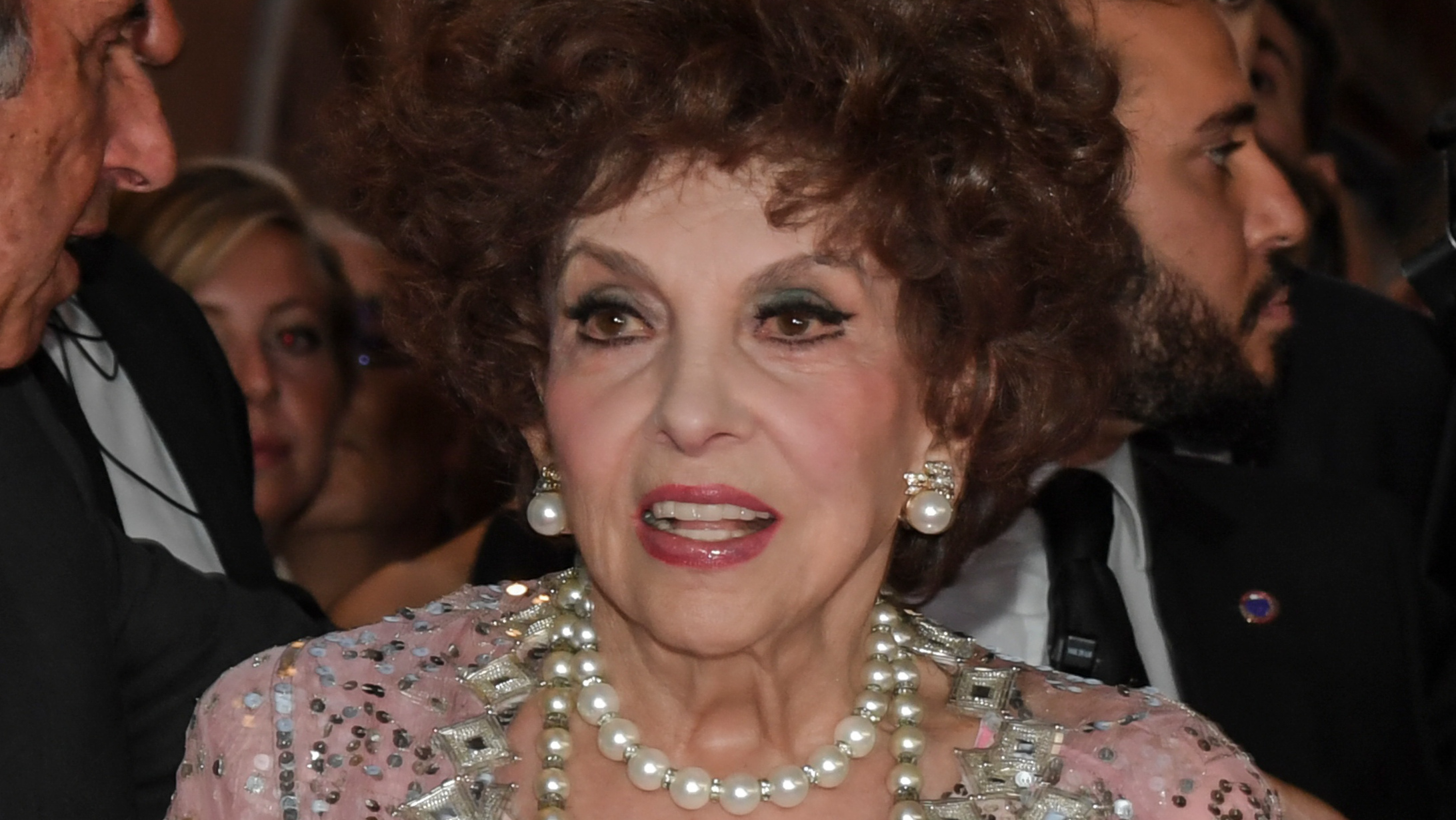 Gina Lollobrigida csillagot kap Hollywoodban