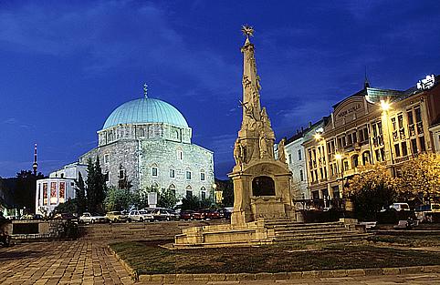 Gázi Kászim pasa dzsámija a Széchenyi téren