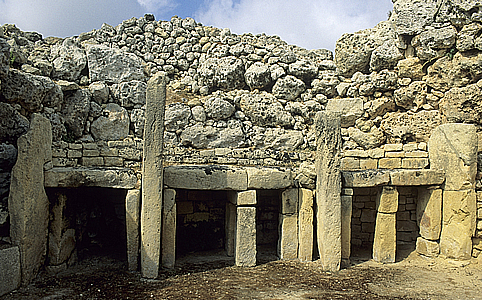 Megalitikus templom, Ggantija, Gozo