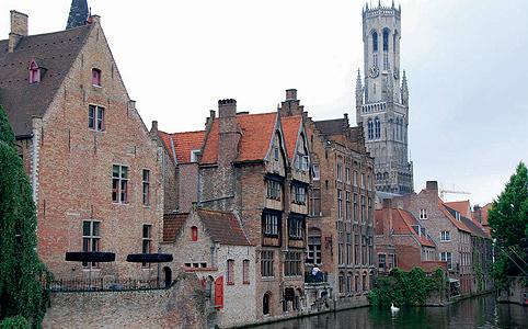 Brüsszel, Leuven, Bruges