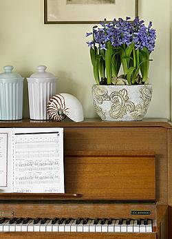 Klasszikus dekoráció a nappaliban