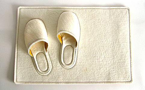 Bedside Slippers by Daniel Meyer