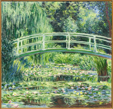 Claude Monet (1840 Párizs–1926 Giverny) Fehér vízililiomok, 1899 The State Pushkin Museum of Fine Arts, Moscow