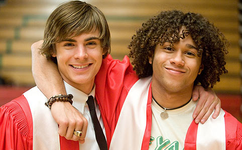 Zac Efron – High School Musical 3.