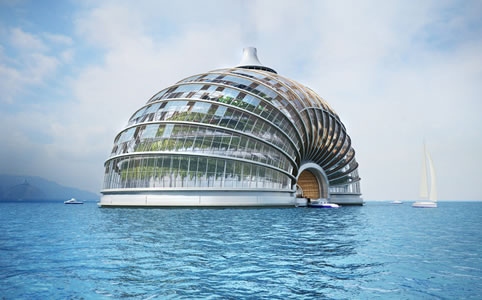 Úszó hotel