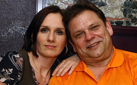 Andrea és férje,Walter Lochmann