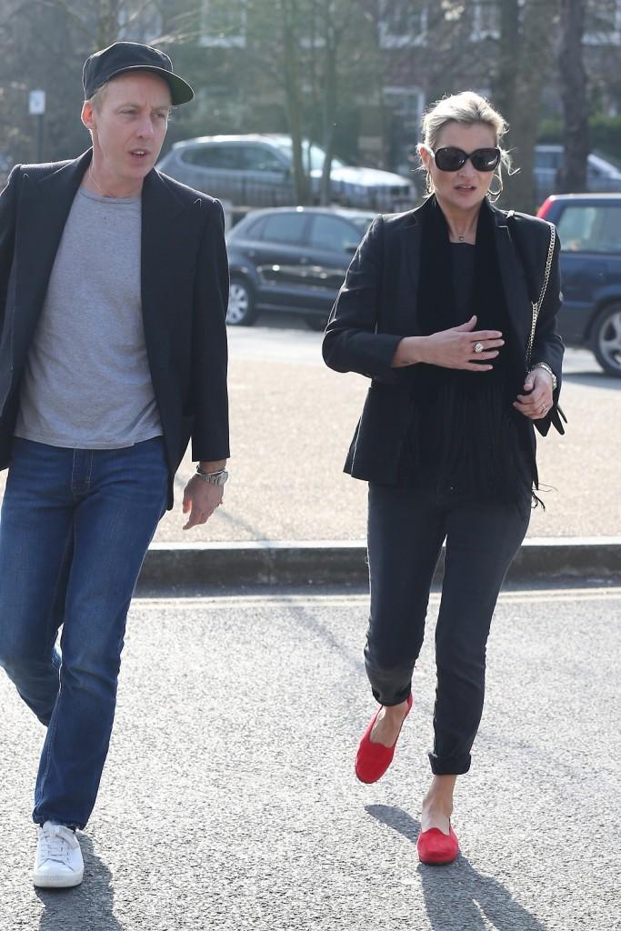 Kate Moss Londonban