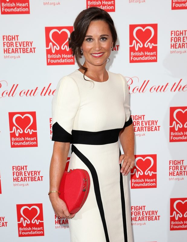 LONDON, ENGLAND - FEBRUARY 11:  Pippa Middleton attends the British Heart Foundation: Roll Out The Red Ball at The Savoy Hotel on February 11, 2016 in London, England.  (Photo by Danny Martindale/WireImage)