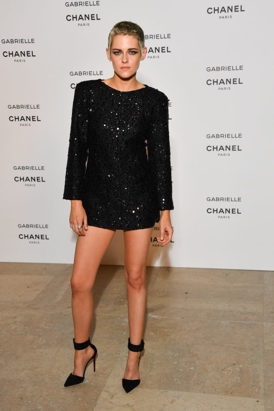 "PARIS, FRANCE - JULY 04:  Kristen Stewart attends the launch party for Chanel's new perfume ""Gabrielle"" as part of Paris Fashion Week on July 4, 2017 in Paris, France.  (Photo by Stephane Cardinale - Corbis/Corbis via Getty Images)"