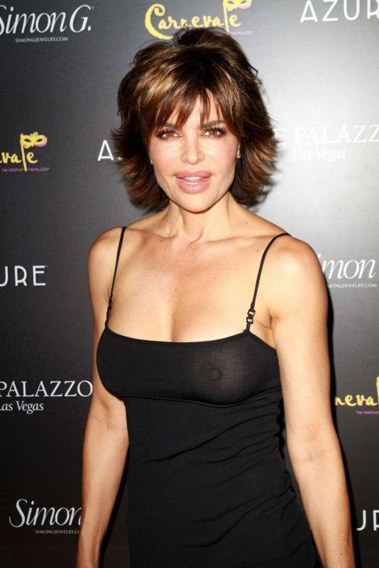 """LAS VEGAS, NV - JUNE 02:  Actress Lisa Rinna attends the Simon G Jewelry's """"Summer Soiree"""" and the kickoff of Carnevale Nights at The Palazzo on June 2, 2012 in Las Vegas, Nevada.  (Photo by Marcel Thomas/FilmMagic)"""