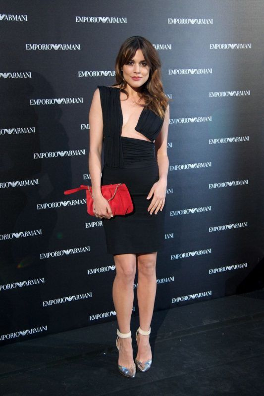 MADRID, SPAIN - APRIL 08:  Spanish actress Adriana Ugarte attends the Emporio Armani Boutique opening on April 8, 2013 in Madrid, Spain.  (Photo by Carlos Alvarez/Getty Images)