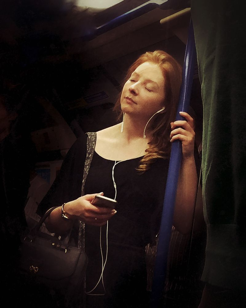 """16th-Century Tube Passengers"" © Matt Crabtree"