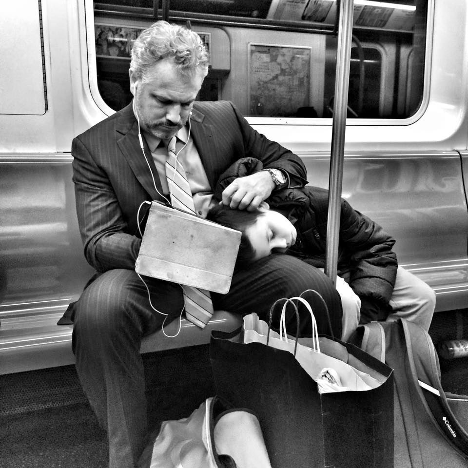 """Exhausted NYC: Families"" © Cyndi Goretski"