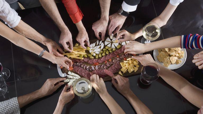 Borok és ételek