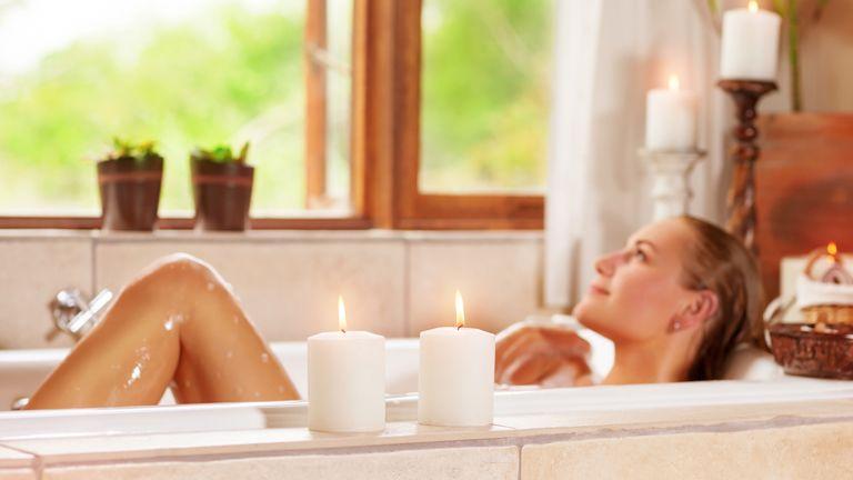 Relaxáló fürdők