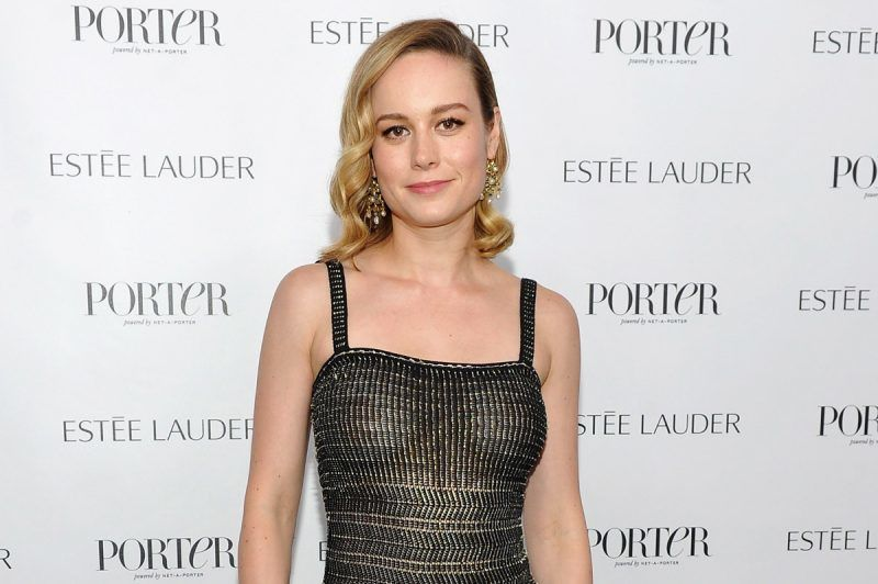 HOLLYWOOD, CA - NOVEMBER 01:  Brie Larson at PORTER Hosts Incredible Women Gala In Association With Estee Lauder at NeueHouse Los Angeles on November 1, 2017 in Hollywood, California.  (Photo by Donato Sardella/Getty Images for PORTER Magazine)