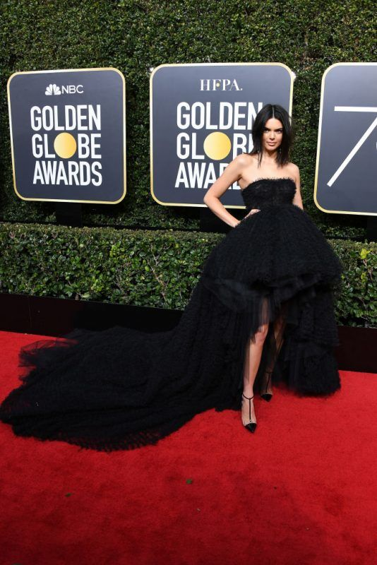 attends The 75th Annual Golden Globe Awards at The Beverly Hilton Hotel on January 7, 2018 in Beverly Hills, California.