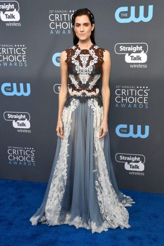 attends The 23rd Annual Critics' Choice Awards  at Barker Hangar on January 11, 2018 in Santa Monica, California.