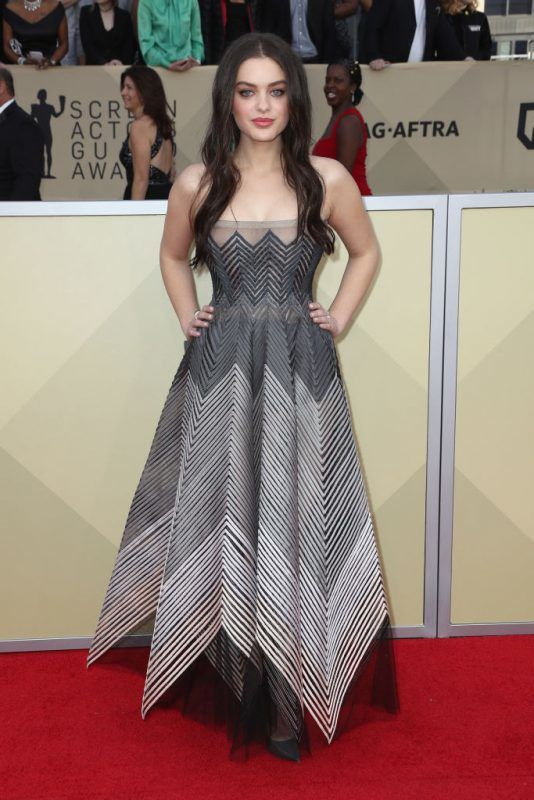LOS ANGELES, CA - JANUARY 21:  Actor Odeya Rush attends the 24th Annual Screen Actors Guild Awards at The Shrine Auditorium on January 21, 2018 in Los Angeles, California. 27522_017  (Photo by Frederick M. Brown/Getty Images)